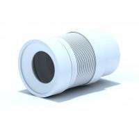 Удлинитель гибкий Ани для унитаза с гладк. вып. 110 мм